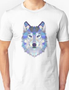 Triangle Wolf Design T-Shirt
