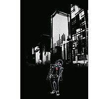 Dark Joker Photographic Print