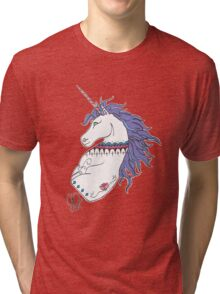 Unicorn in Sharpie Tri-blend T-Shirt