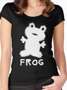 Valentine's Day Frog Women's Fitted Scoop T-Shirt