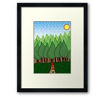 Little Red Riding Hood Framed Print