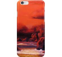 RED SKY SUNSET iPhone Case/Skin