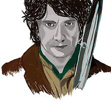 Bilbo of the Shire by HanGrace