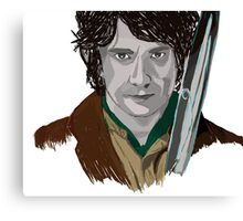 Bilbo of the Shire Canvas Print