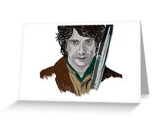 Bilbo of the Shire Greeting Card