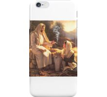 Jesus and the Woman at the Well iPhone Case/Skin