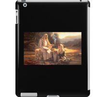 Jesus and the Woman at the Well iPad Case/Skin