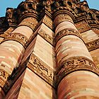 Qutb Minar by Ben Sheahan