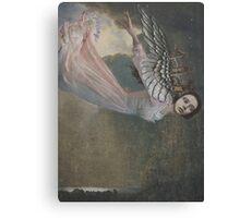 Falling Angel Canvas Print