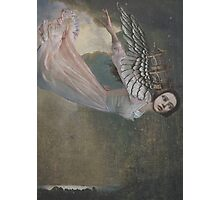 Falling Angel Photographic Print