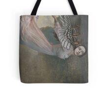 Falling Angel Tote Bag