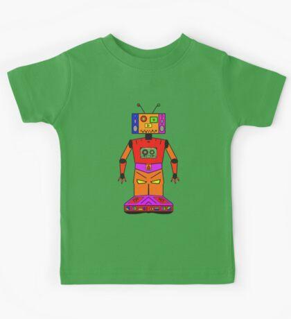 Robot Mix Tape Kids Tee