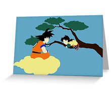 Father and Son (clean) Greeting Card