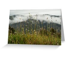Snowy mountains NSW Greeting Card