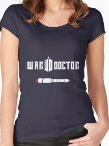 War Doctor Women's Fitted Scoop T-Shirt