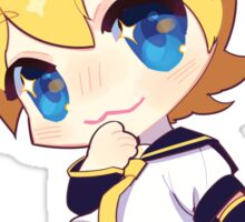 Kitty Len Sticker