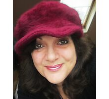 favourite red hat 2 Photographic Print