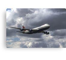 Boeing 747-87UF Canvas Print