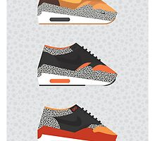 AM1 Safari-print trio by Sweetsoles