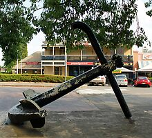 Convict Anchor Windsor New South Wales  circa 1788 by Vicki Childs