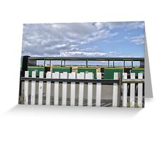 Dungeness Train Greeting Card