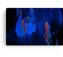 Walking After Midnight Abstract Canvas Print