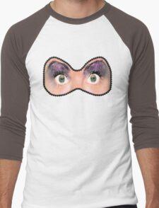 Eye Mask Men's Baseball ¾ T-Shirt