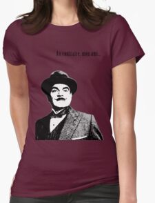 Hercule Poirot Womens Fitted T-Shirt