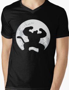 Night Monkey Mens V-Neck T-Shirt