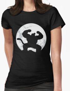 Night Monkey Womens Fitted T-Shirt