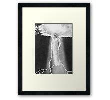 Lightning Angel Framed Print