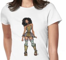 Disco Dame Womens Fitted T-Shirt