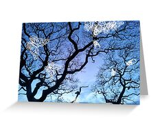 Llansteffan Gothic Greeting Card