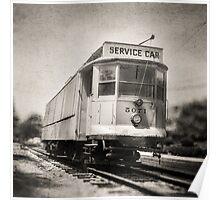 Vintage Streetcar Trolley 6087 Poster