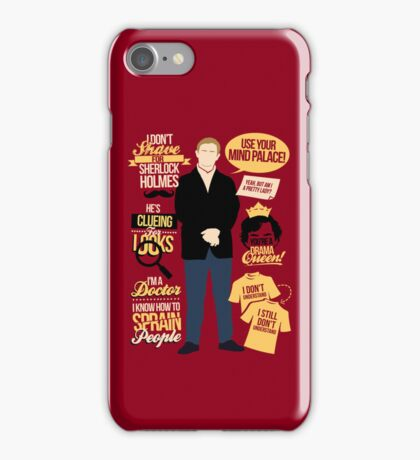 Clueing For Looks iPhone Case/Skin