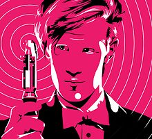 The Eleventh Doctor (Pink) by Robert  Lockley