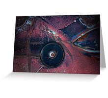 Eye of the Storm Abstract Greeting Card