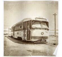 Vintage Streetcar Trolley 4440 Poster