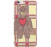 Teddy Bear on a Shelf iPhone Case/Skin