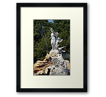 Cliveden Fountain Framed Print