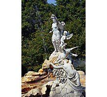 Cliveden Fountain Photographic Print