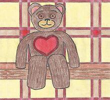 Teddy Bear on a Shelf by gt6673