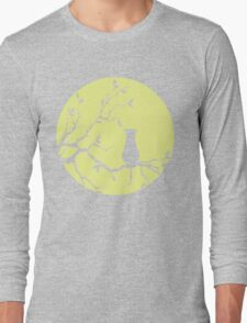 The Cat And The Moon (v2) Long Sleeve T-Shirt