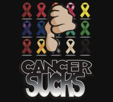 Cancer Sucks-Melanoma (Skin Cancer) by MGraphics