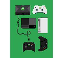 Pixel History - Xbox Photographic Print