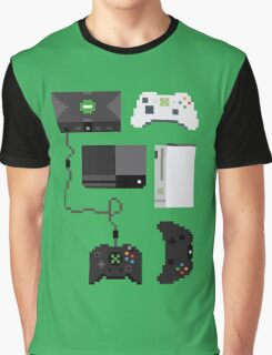 Pixel History - Xbox Graphic T-Shirt