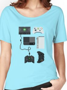 Pixel History - Xbox Women's Relaxed Fit T-Shirt