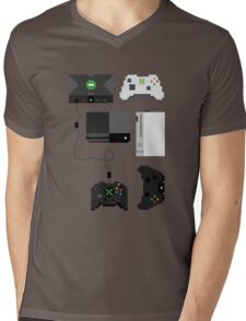 Pixel History - Xbox Mens V-Neck T-Shirt