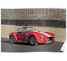 1966 Shelby Cobra 'Race Ready' Poster