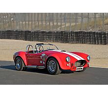 1966 Shelby Cobra 'Race Ready' Photographic Print